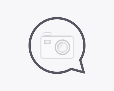 Komentarz Bubble Icon - Vector