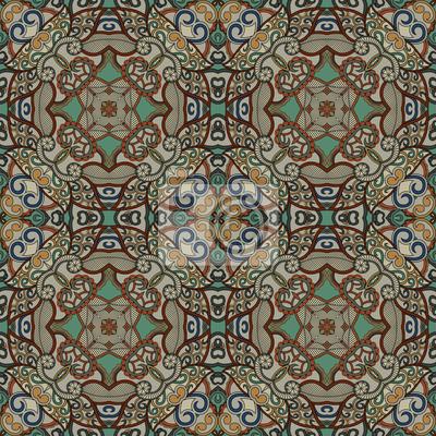 Kompletne tło geometryczne. Ozdobny wzór