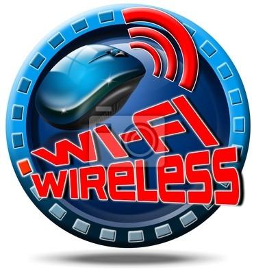 Koncepcja Wireless icon