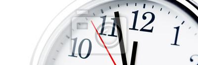 Naklejka Koncepcja zarządzania zegarem / czasem
