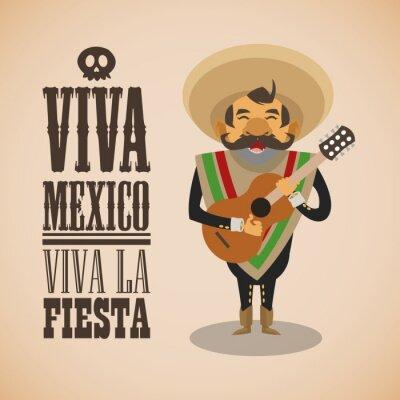 Naklejka Konstrukcja Kultura meksykańska