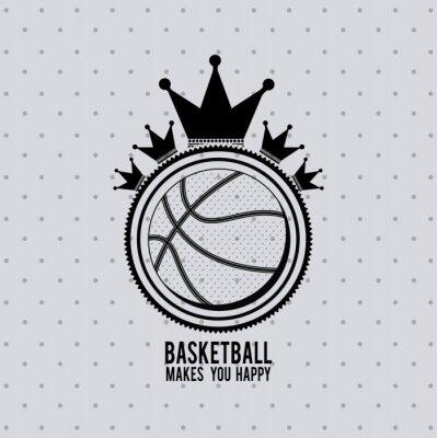 Naklejka Konstrukcja liga koszykówki