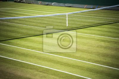 Naklejka Kort tenisowy netto