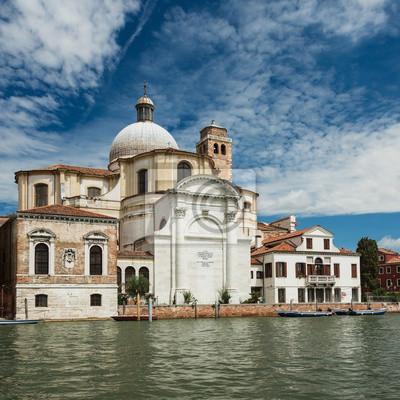 Naklejka Kościół San Geremia w Venice.Italy