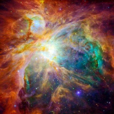 Naklejka Kosmiczna chmura nazywana Mgławica Oriona