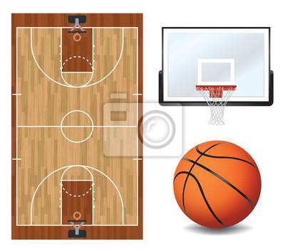 Koszykówka Design Elements Ilustracja
