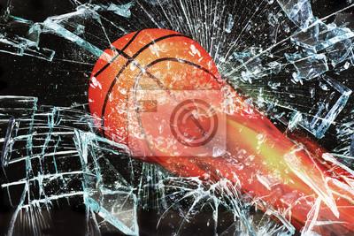 Koszykówka na ogień.