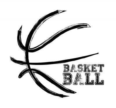 Naklejka Koszykówka Sport
