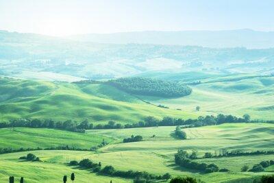 Naklejka krajobraz w Toskanii we Włoszech