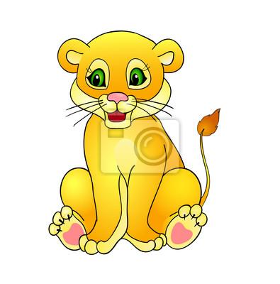 kreskówki lew,