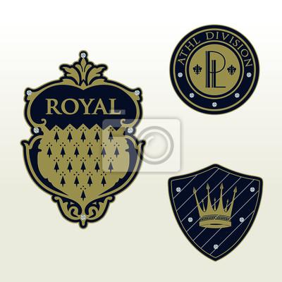Królewski Heraldyka Emblema