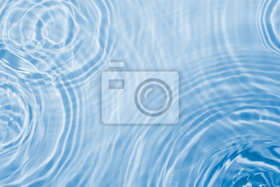 Naklejka Krople wody