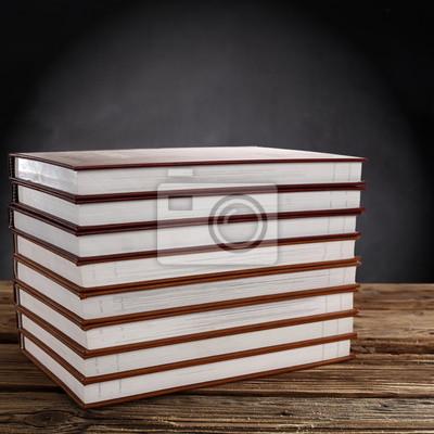 Naklejka książki