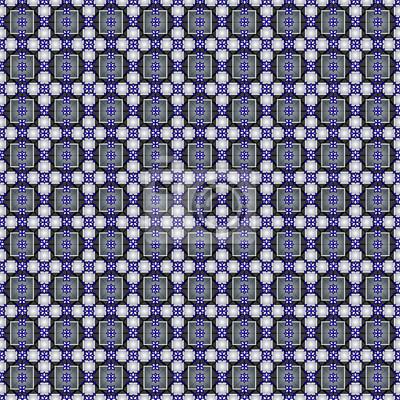 Kwadraty, romby, krzyże bez szwu wzór. Może być stosowany do tapety, tkaniny, papier pakowy.