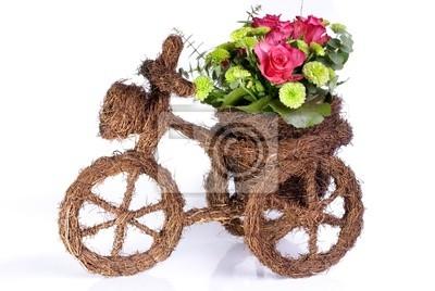 kwiat rower