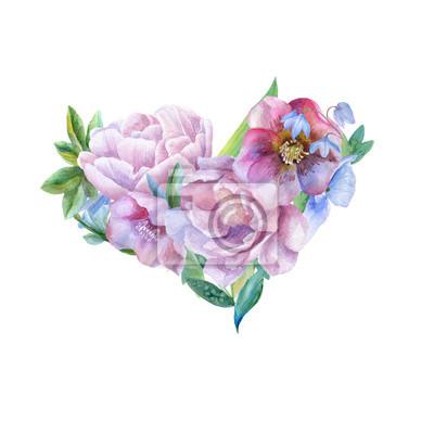 Kwiatowe serce