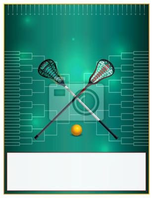 Lacrosse Turniej Szablon wydruku