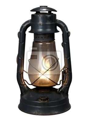 lampy naftowej (z clipping path {