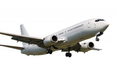 Naklejka Landing plane