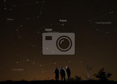 Naklejka lekcja astronomii