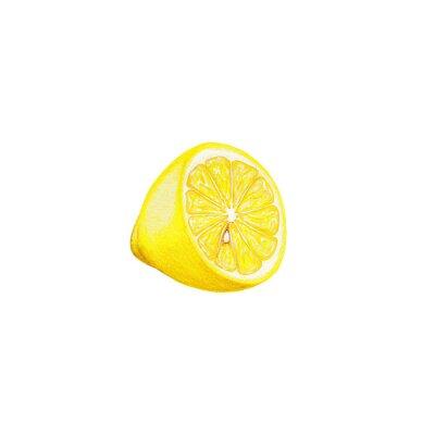 Naklejka Lemon sztuki