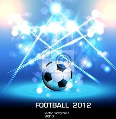 light poster football, łatwo można edytować