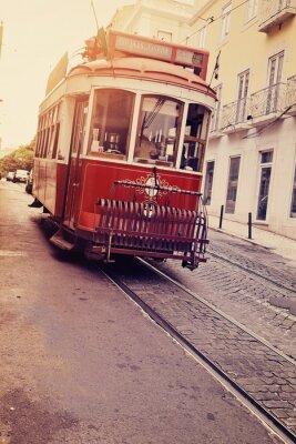 Naklejka Lisbonne (électrique tramwaj)