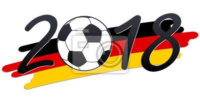 liternictwo 2018 z niemieckimi barwami narodowymi