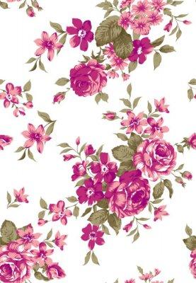 Naklejka Livia Floral Pattern