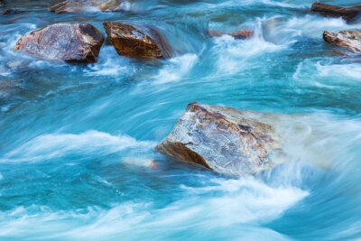 Naklejka Lodowiec rzeka