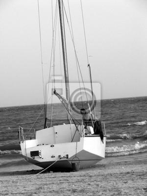 łódź morze