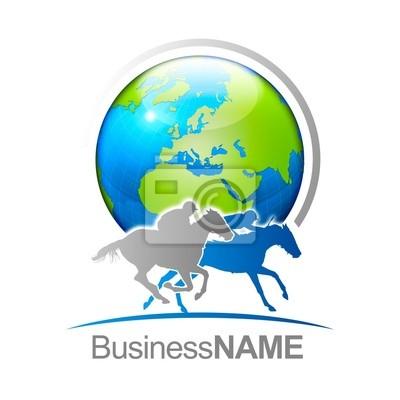 Logo chevaux B