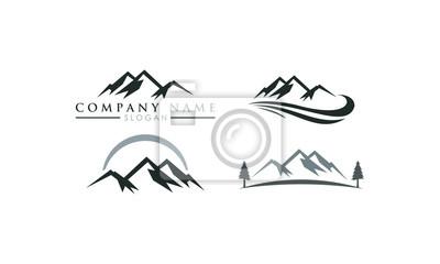 logo góra zestaw szablonów