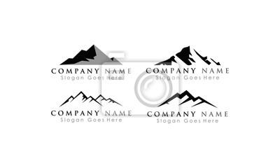 logo górskie szablon