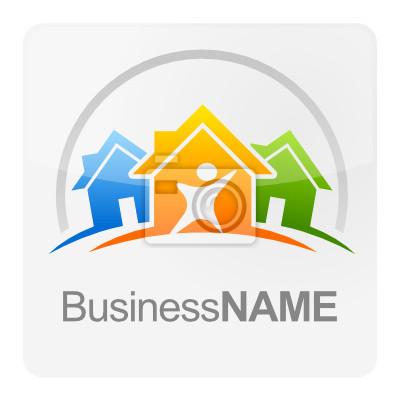 Logo maison B blanc