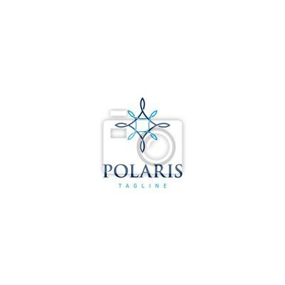 Naklejka Logo Polaris luxurius
