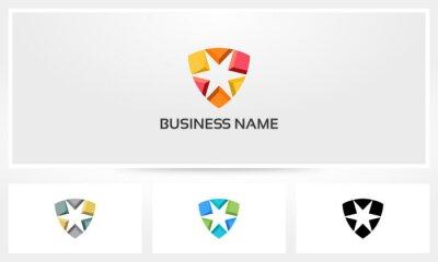 Naklejka Logo Star Shield