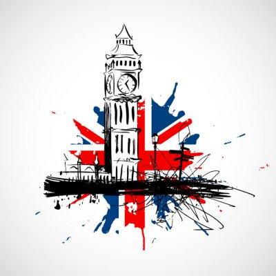 Naklejka Londyn!