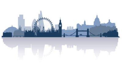 Naklejka Londyn w wektorze płaskim stile