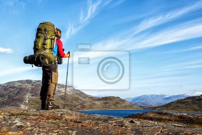 Long Distance Hiker w Szwecji