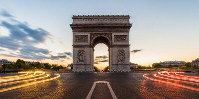 Naklejka Łuk Triumfalny w Paryżu