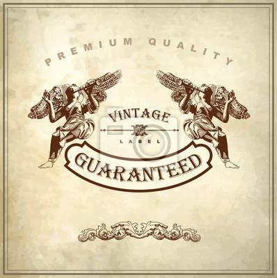 Luksusowy Królewski najwyższej jakości i gwarancji etykiety