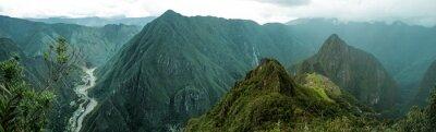 Naklejka Machu Picchu panoramiczny
