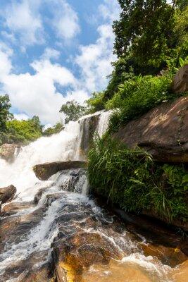 Naklejka Mae Klang wodospad, park narodowy Doi Inthanon, Tajlandia
