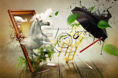 Magiczny świat malarstwa