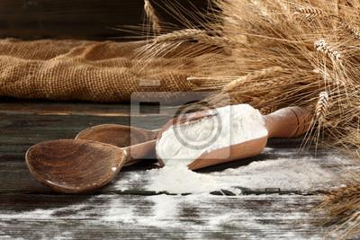 Naklejka Mąka