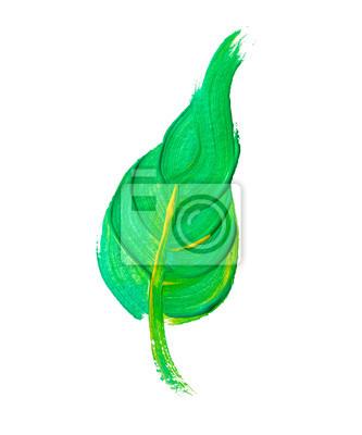 Malowane leaf