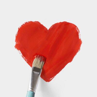 Malowane serce