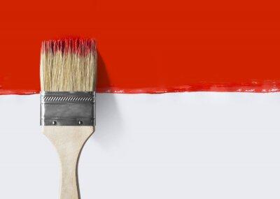 Malowane tło