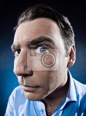 Man Portrait Suspicious